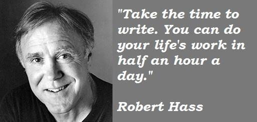 Robert Hass's quote #1
