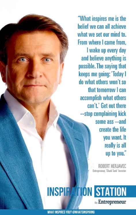 Robert Herjavec's quote #3