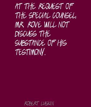 Robert Luskin's quote