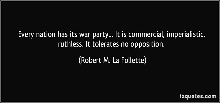 Robert M. La Follette's quote #1