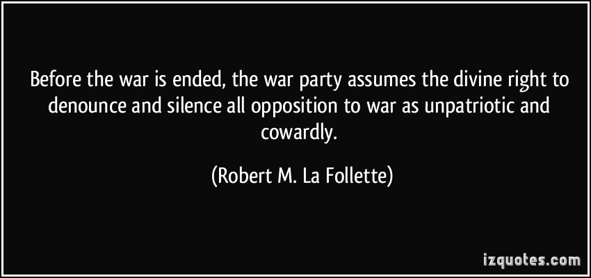 Robert M. La Follette's quote #4