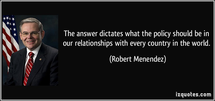 Robert Menendez's quote #5