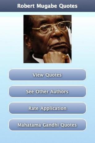 Robert Mugabe's quote #7