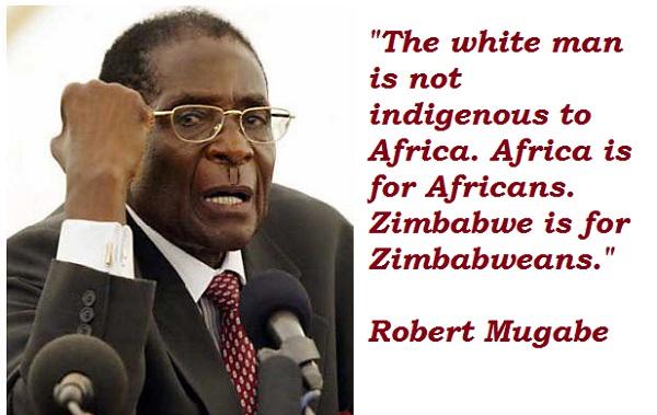 Robert Mugabe's quote #8