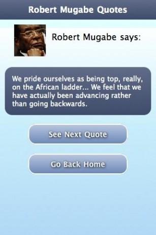 Robert Mugabe's quote #4