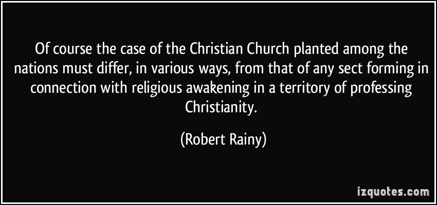 Robert Rainy's quote #3
