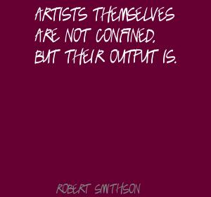 Robert Smithson's quote #7