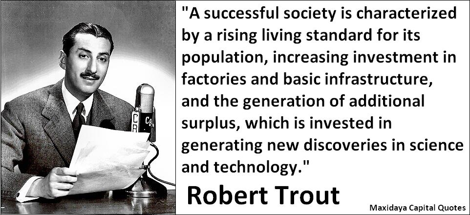 Robert Trout's quote #1