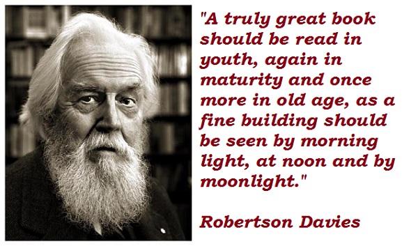 Robertson Davies's quote #4
