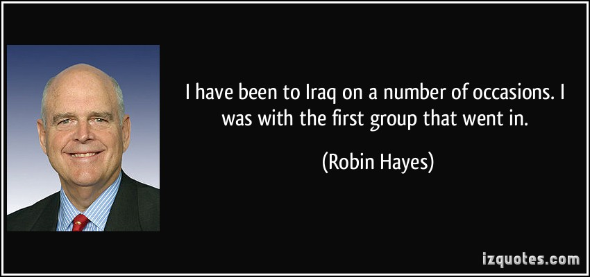 Robin Hayes's quote #1