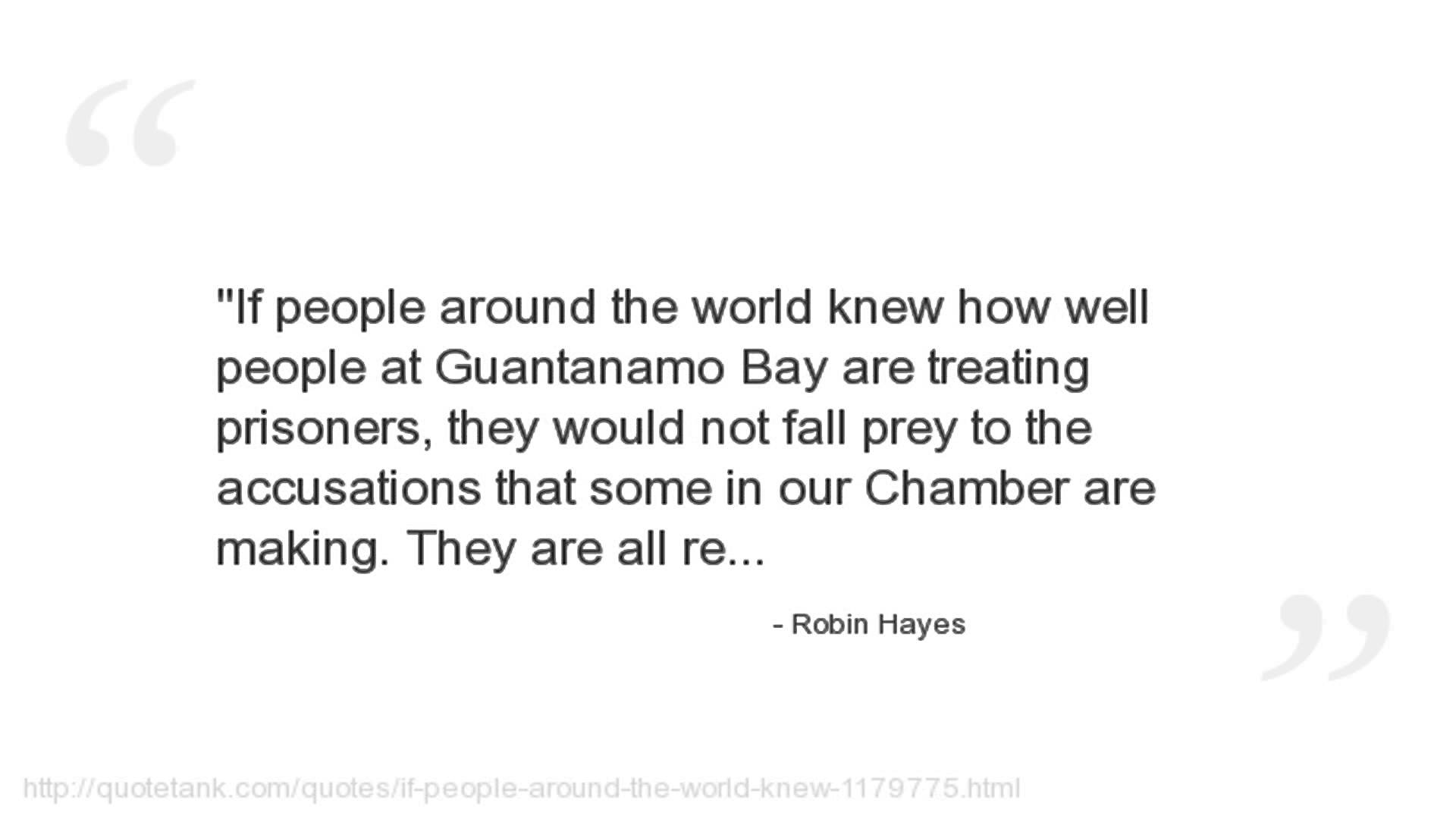 Robin Hayes's quote #4