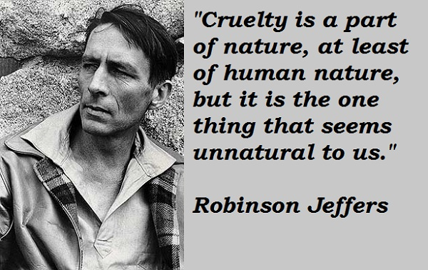 Robinson Jeffers's quote #1