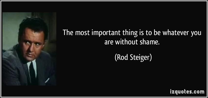 Rod Steiger's quote #1