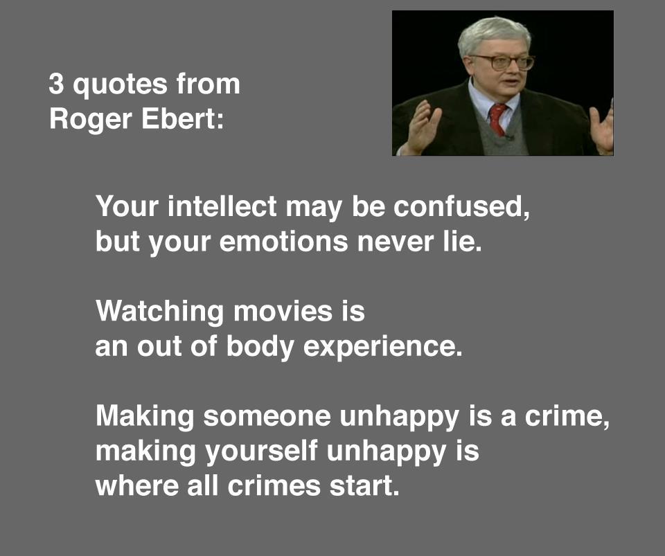 Roger Ebert's quote #4