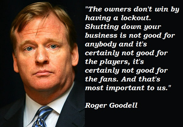 Roger Goodell's quote #3