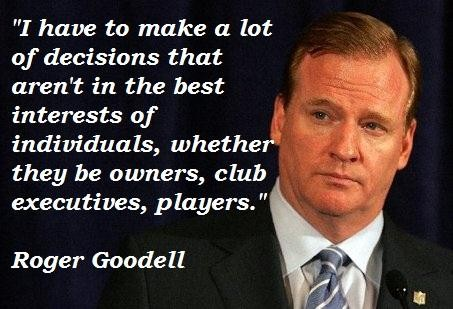 Roger Goodell's quote #8