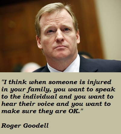 Roger Goodell's quote #5