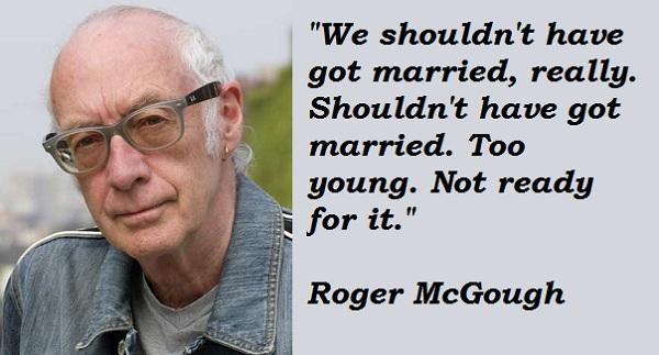 Roger McGough's quote #1