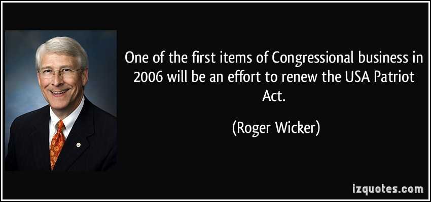 Roger Wicker's quote #2