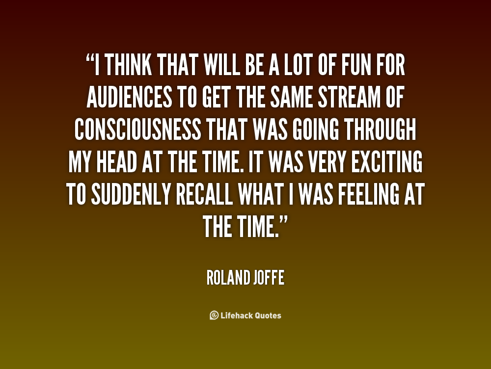 Roland Joffe's quote #4