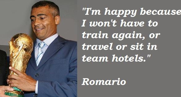 Romario's quote #4