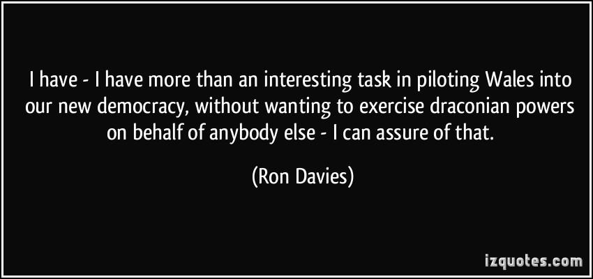 Ron Davies's quote #4