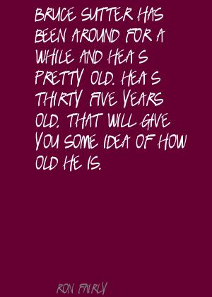 Ron Fairly's quote #2