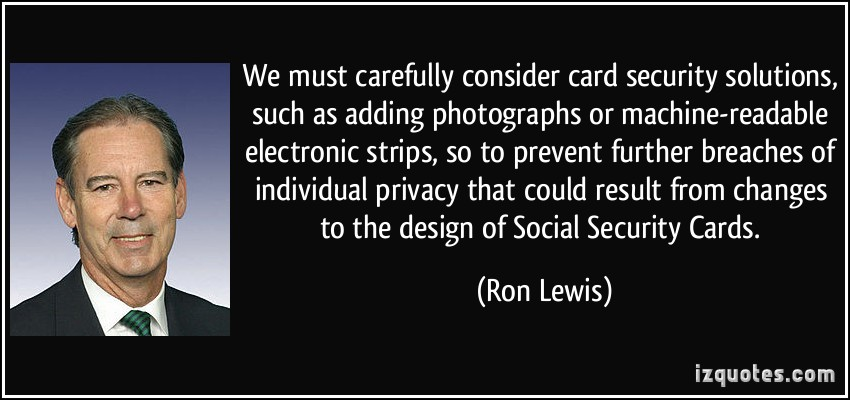 Ron Lewis's quote #2