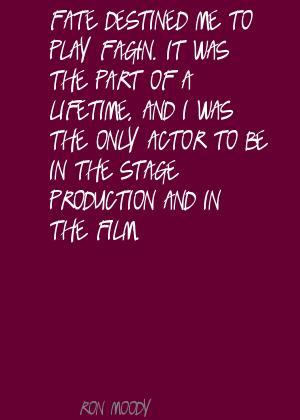 Ron Moody's quote #4