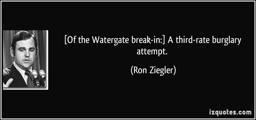 Ron Ziegler's quote #3