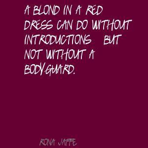 Rona Jaffe's quote #1