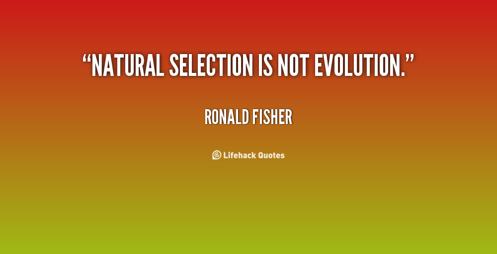 Ronald Fisher's quote #1