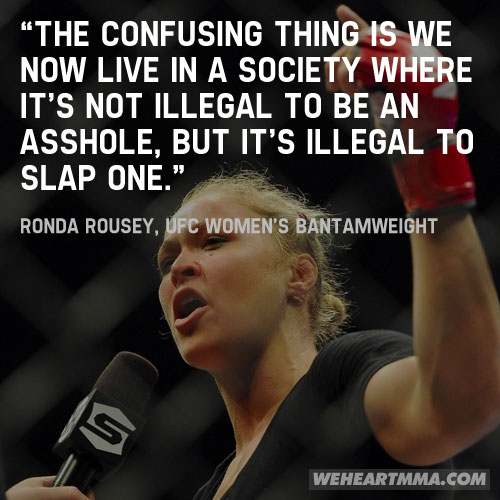 Ronda Rousey's quote #2