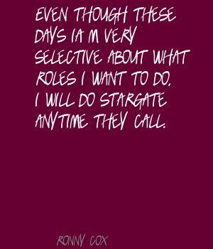 Ronny Cox's quote #2