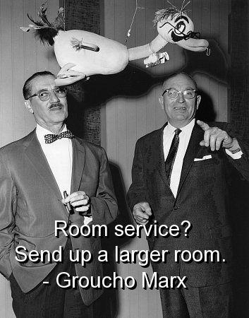 Room Service quote #2