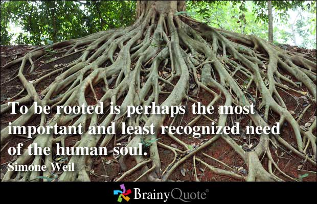 Rooted quote