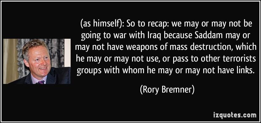 Rory Bremner's quote #4