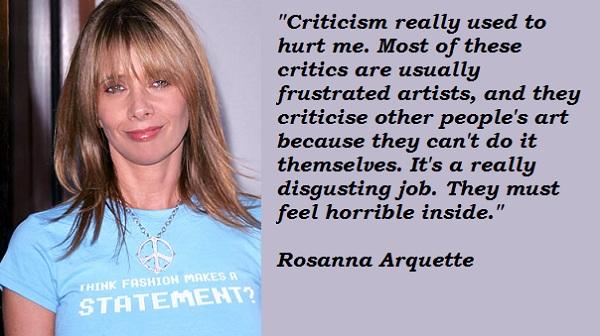 Rosanna Arquette's quote #5