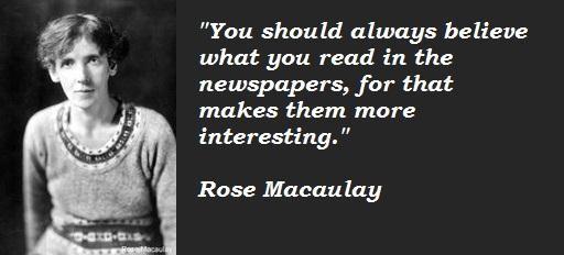 Rose Macaulay's quote #3