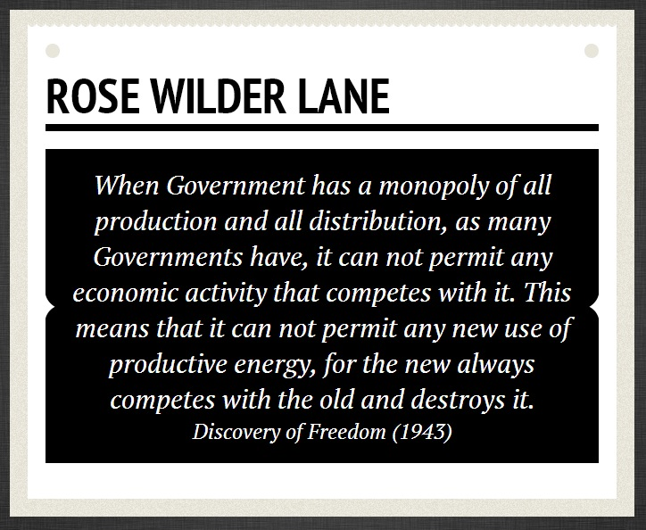 Rose Wilder Lane Image Quotation 7 Sualci Quotes