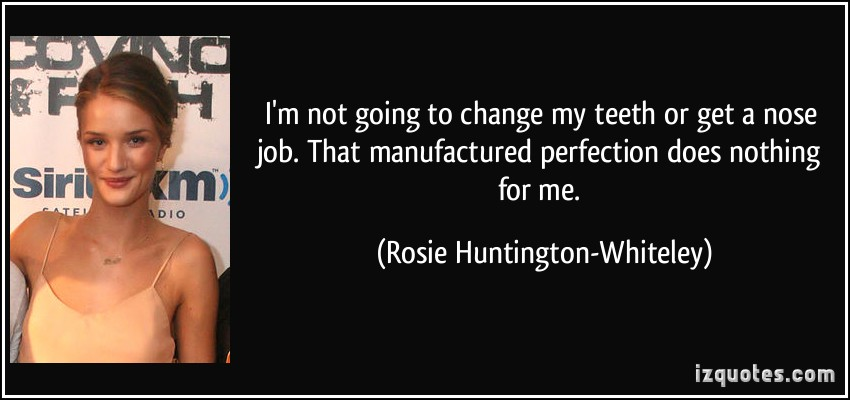 Rosie Huntington-Whiteley's quote #6