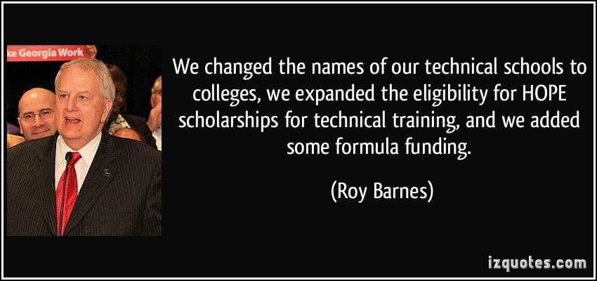 Roy Barnes's quote #6