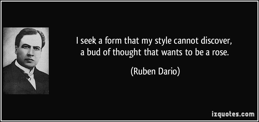 Ruben Dario's quote #1