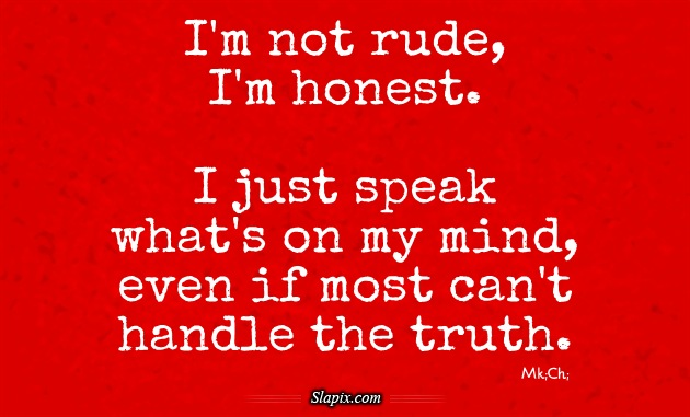 Rude quote #3