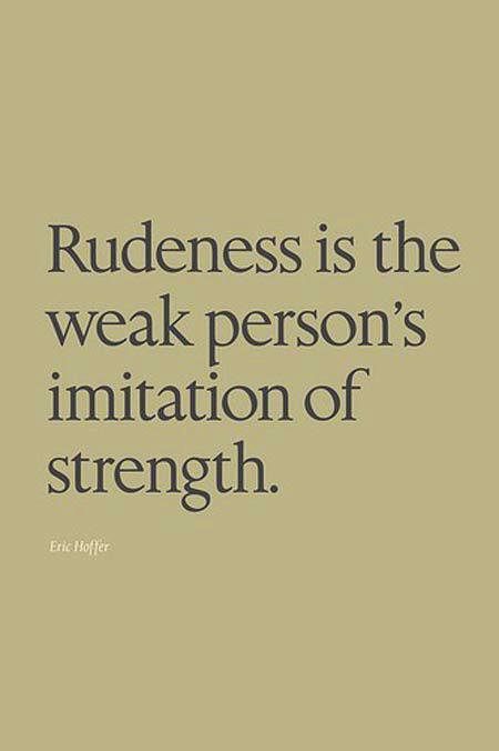 Rude quote #5