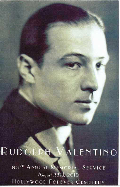 Rudolph Valentino's quote #1