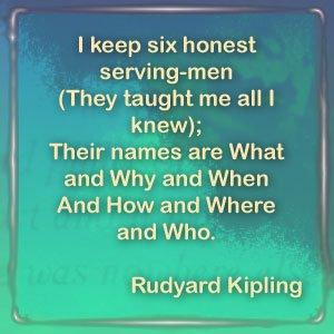Rudyard Kipling's quote #4
