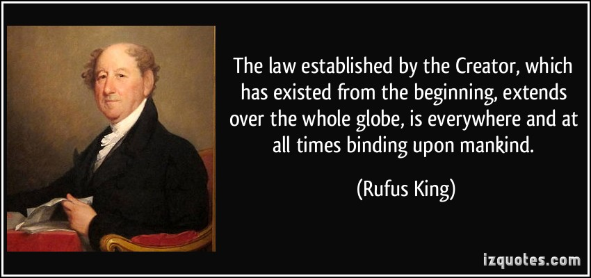 Rufus King's quote #1