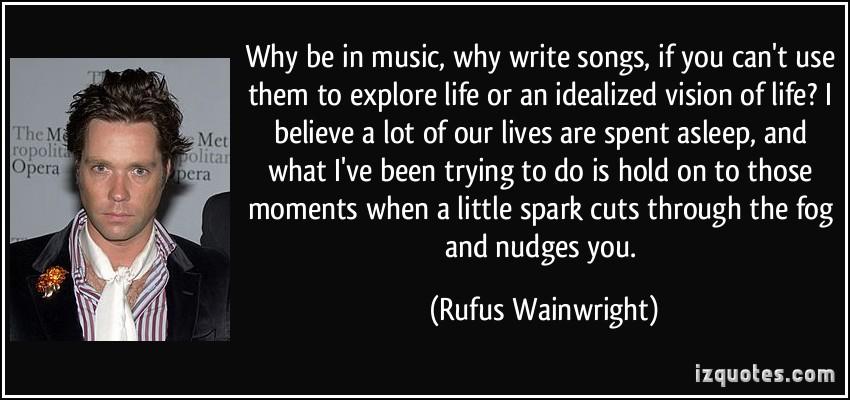 Rufus Wainwright's quote #1