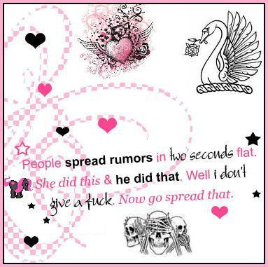 Rumor quote #1